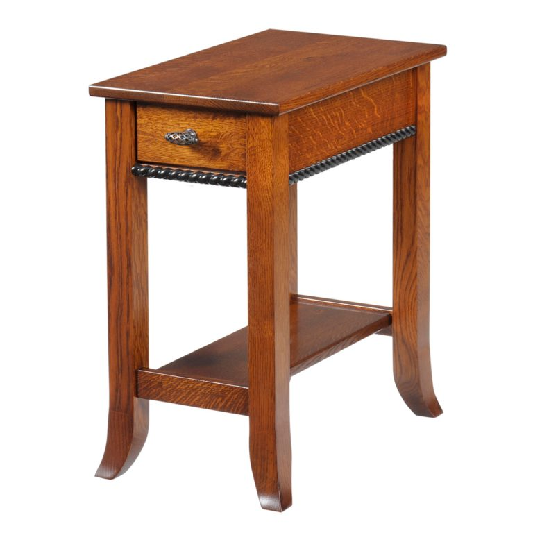 Cranberry Chairside Table