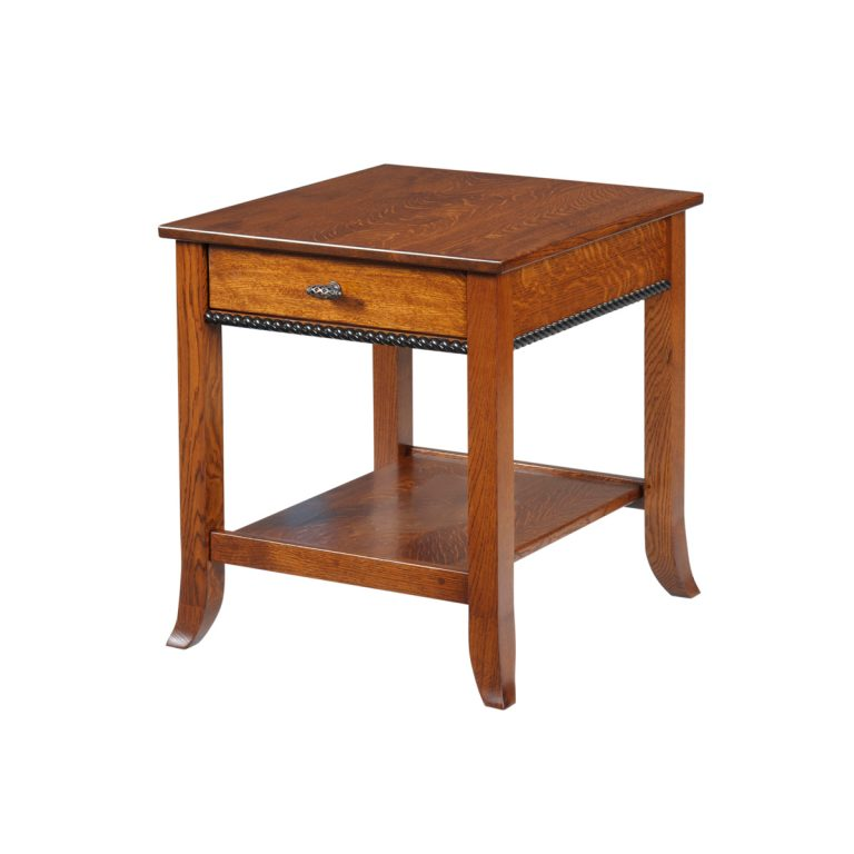 Cranberry End Table