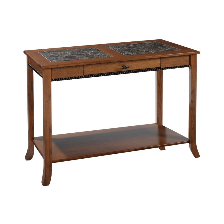 Cranberry Sofa Table With Cambria Top