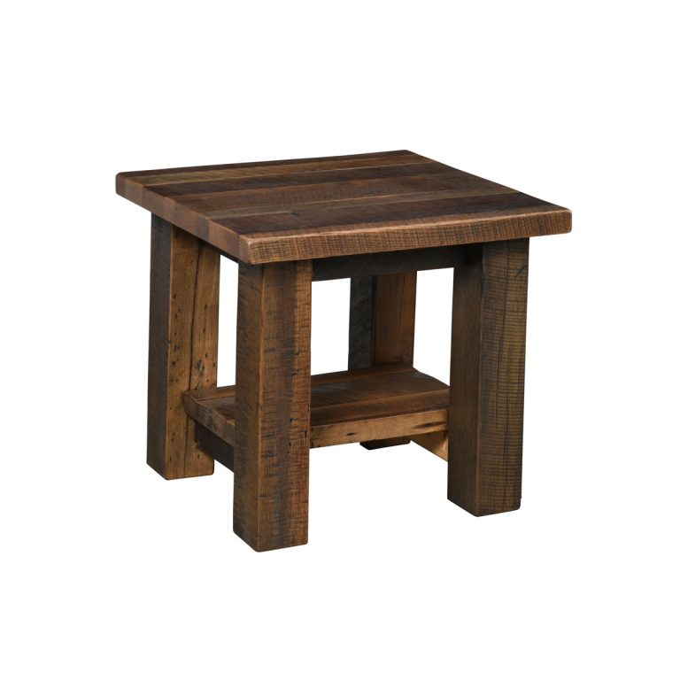 Kingston End Table with Shelf