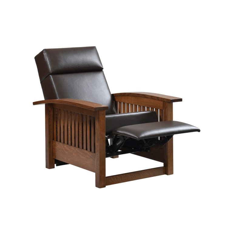 Liberty Mission Recliner Front Open