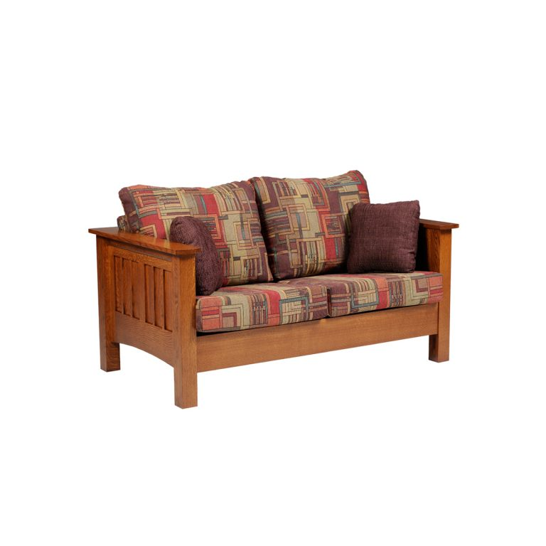 Mission Loveseat Back