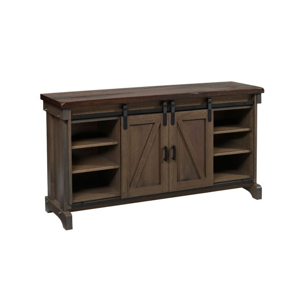 Ole Barn TV Stand With Doors