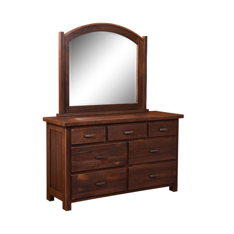 Quincy Mirror and 7 Drawer Dresser