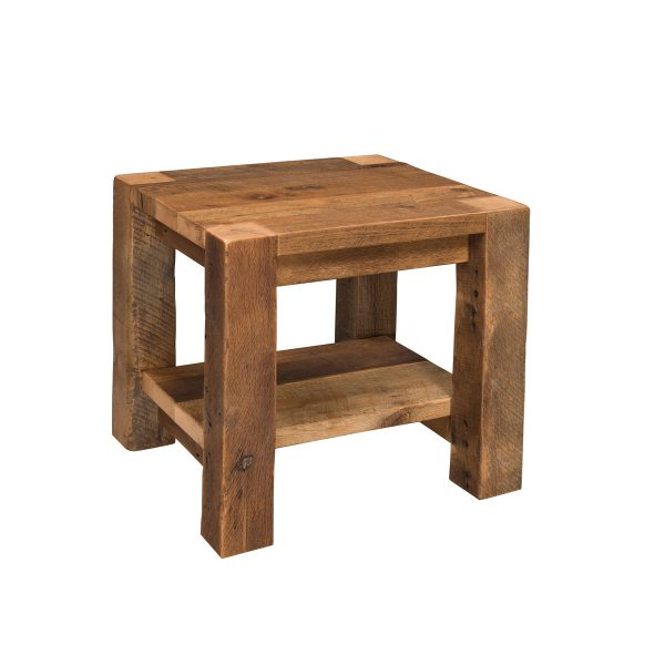 Timber Ridge End Table with Shelf