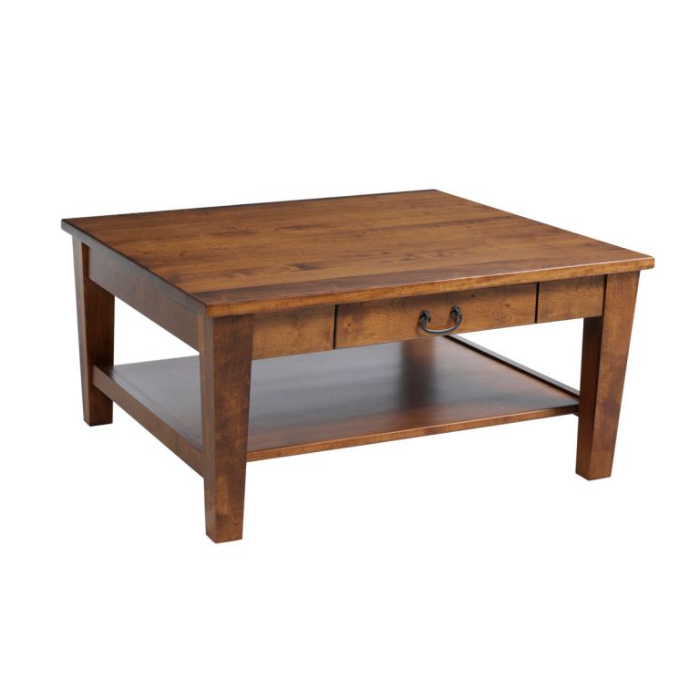 Urban Shaker Coffee Table Square With Drawer