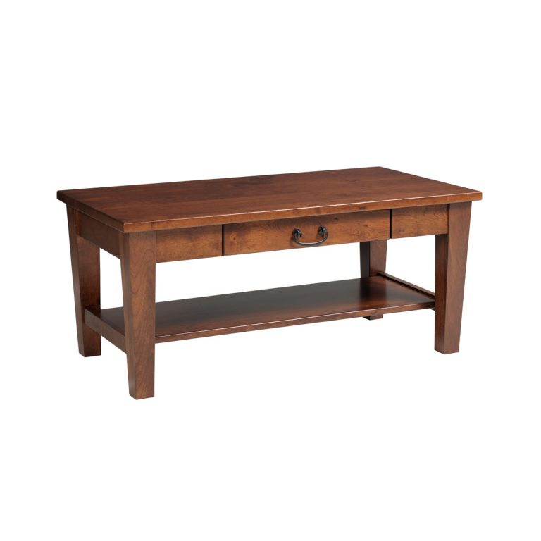 Urban Shaker Coffee Table With Drawer