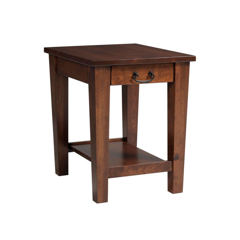 Urban Shaker End Table With Drawer