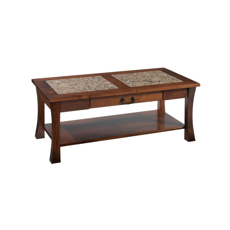 Woodbury Coffee Table With Cambria Top