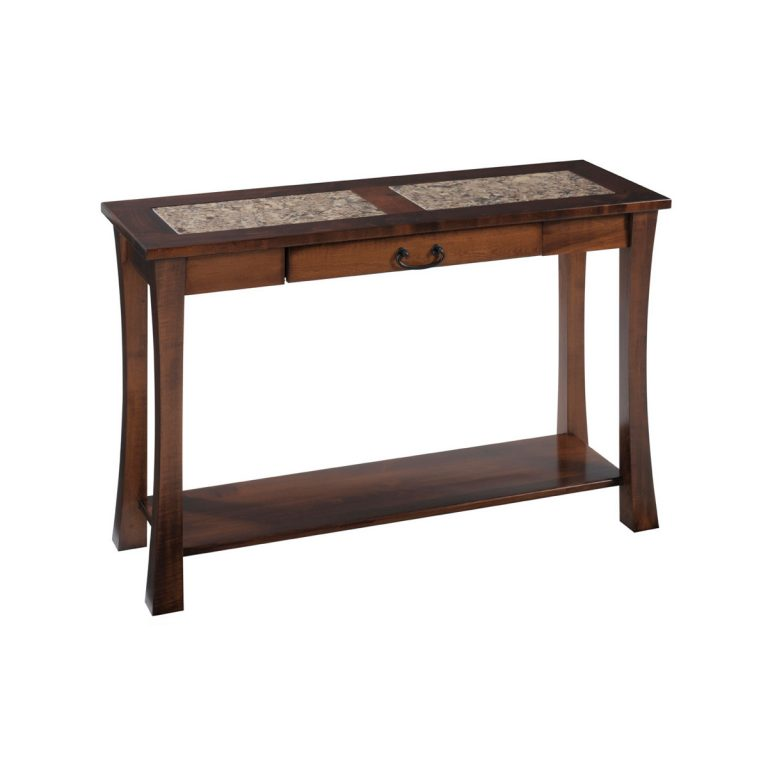Woodbury Sofa Table With Cambria Top