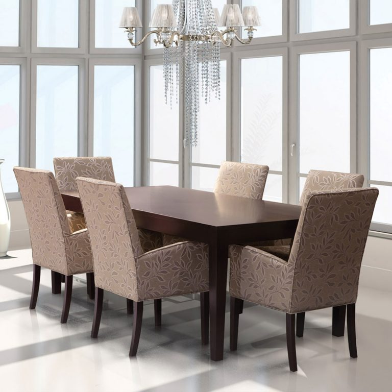 Parsons Armchair Dining Set
