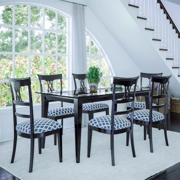 Canadel Glass Dining Set