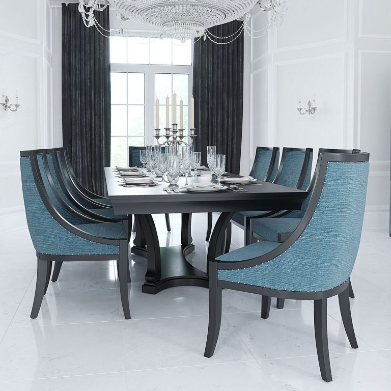 Canadel 'CQ' Base Dining Set