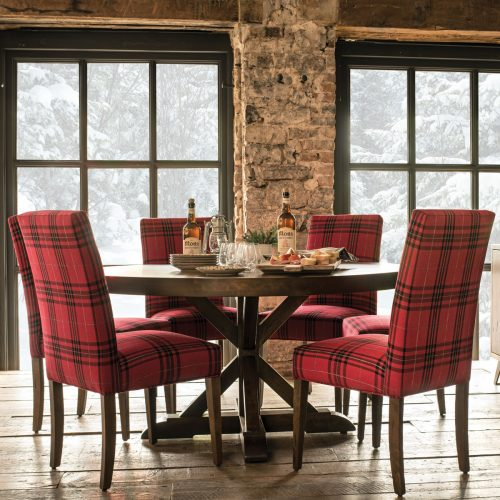 Loft Large Round Dining Set