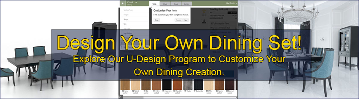 Design Your Own Dining Set