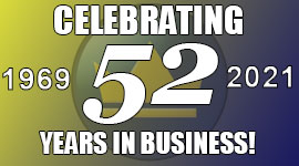 51 YEARS IN BUSINESS!
